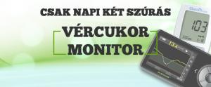 Dexcom vércukor monitor